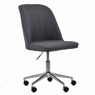 Oblek Office Chair Charcoal Grey Fabric