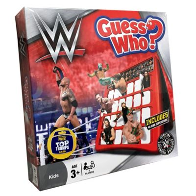 WWE Guess Who Classic Guessing Game