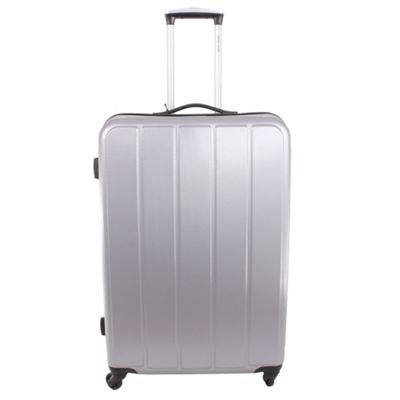 Pierre Cardin Exon ABS Large Trolley Case - Silver