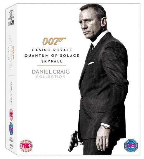 Skyfall Daniel Craig - (Blu-Ray Boxset)
