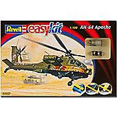 Revell Ah-64 Apache 1:100 Easykit Aircraft Model Kit - 06646
