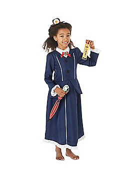 Disney Mary Poppins Fancy Dress Costume - Navy