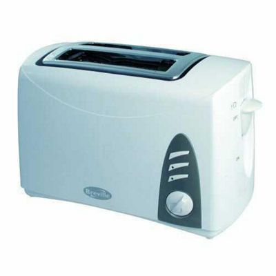 Breville PT34 White Value 2 Slice Toaster