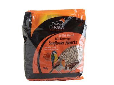 Dawn Chorus 50967 Sunflower Hearts 600G