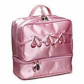 Children's Ballet Bags - Dark Pink Satin, Children's Ballet Bags, Girl's Ballet Bags, Ballet Bags for Girls