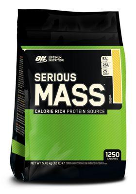 Optimum Nutrition Serious Mass 5.45kg - Banana