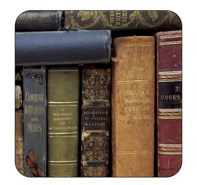 Pimpernel Archive Books Coasters Set of 6