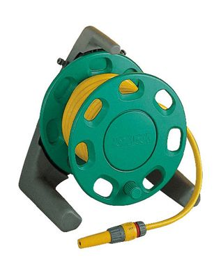 Hozelock 30m compact reel with 15m multi purpose hose