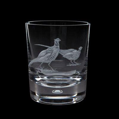 Royal Brierley Engraved Pheasant Tumbler 0.30L