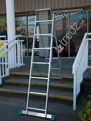 DIY 3Way 2m (6.56ft) Double Combination Ladder