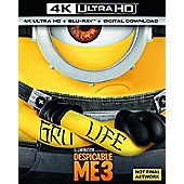 Despicable Me 3 4K Blu-Ray 2Disc