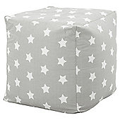 Kaikoo Kiddies Bean Cubes Grey Stars