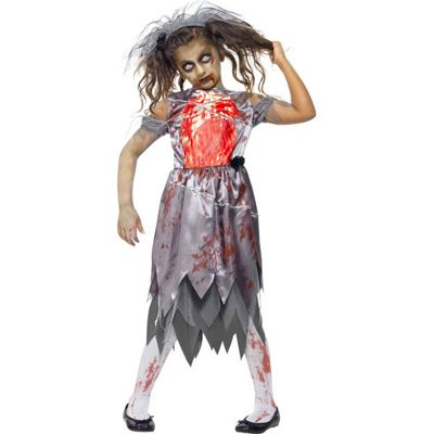 Halloween Costumes For Girls Age 13.Buy Zombie Bride Teen Costume 13 14 Years From Our All