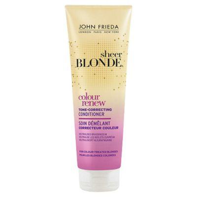 John Frieda  Sheer Blonde Colour Renew Tone-Correcting Conditioner 250ml