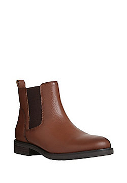 F&F Leather Chelsea Boots - Tan