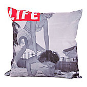 LIFE® Scatter Cushion - Leap Frogging On The Beach