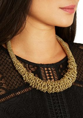 Only Beaded Collar Necklace