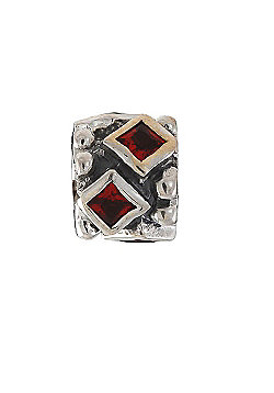 Amore & Baci Precious Rock Bead - Red Diamond