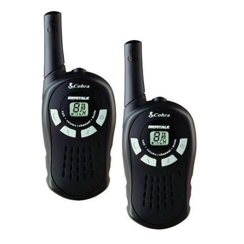 Cobra Mt200 PMR Two Way Radio Set Walkie Talkie Kit