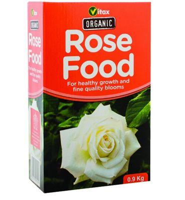 Vitax Organic Rose Food - 100% Organic - Natural Plant Goodness - 2.5kg