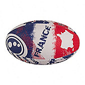 Optimum Nation France Rugby League Union Ball - Size 4