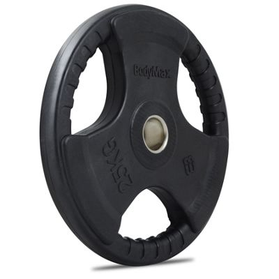 Bodymax Olympic Rubber Radial Weight Disc Plate - 25kg
