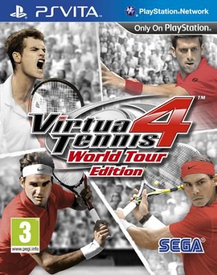 Virtua Tennis 4, PS Vita