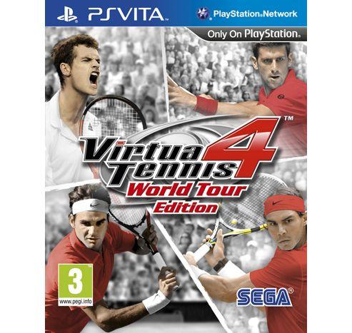 Virtua Tennis 4, PS Vita