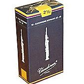 Vandoren 2 1/2 Soprano Sax Reed (x10)