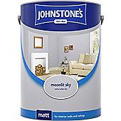 Johnstones No Ordinary Paint Water Based Interior Vinyl Matt Emulsion Moonlit Sky 75ml
