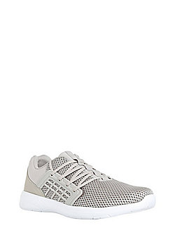 F&F Mesh Micro-Fresh® Trainers - Mink brown