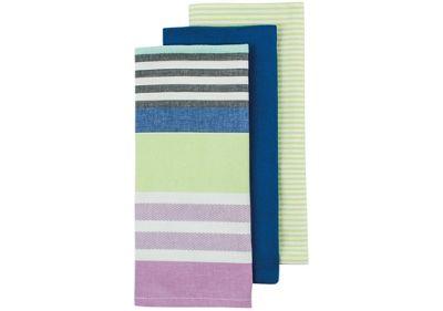 Ladelle Elliot Stripe Tea Towels, Pack of 3