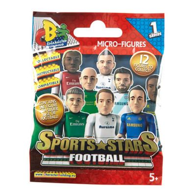 Character Building Sports Stars Footballers Micro Figures Pack