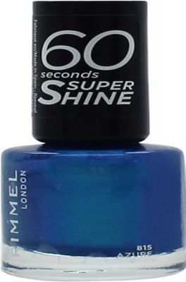 Rimmel 60 Seconds Nail Polish 8ml - Azure