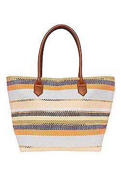 F&F Metallic Stripe Tote Bag