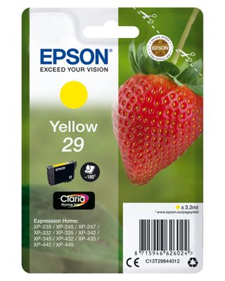 Epson Strawberry 29 Yellow Ink