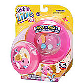 Little Live Pets Mice - Lil Mouse Wheel Pack - WAFFLES - PINK