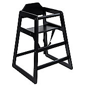 Safetots Simply Stackable Highchair Black