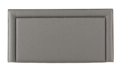 Silentnight Malvern Single Headboard Slate Grey