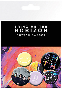 Bring Me The Horizon Colours BMTH Badge Pack 10x15cm - Multi