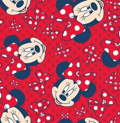 Disney Minnie Mouse Red Bow Wallpaper