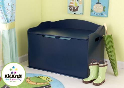 KidKraft Austin Toy Box - Blueberry