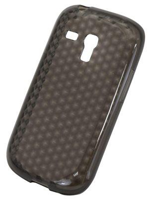 Tortoise™ Soft Gel Case Samsung Galaxy SIII Mini Honeycomb Black
