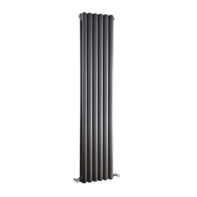 Premier Peony Vertical Radiator 1500mm High x 383mm Wide Anthracite