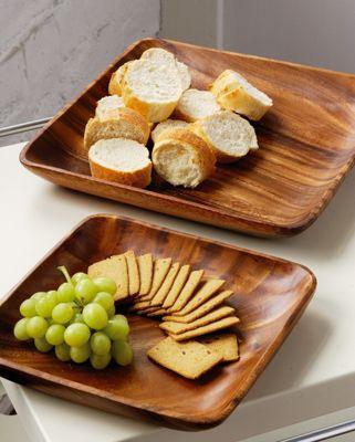 Premier Housewares Acacia 35cm Wood Serving Dish