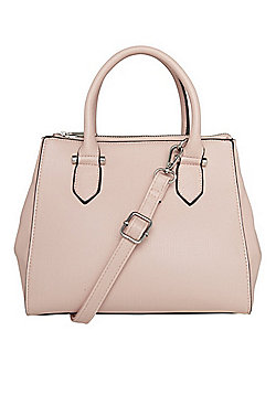F&F Square Midi Grab Bag Blush Pink One Size