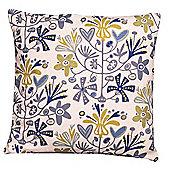 Alma Cushion Cover Blue