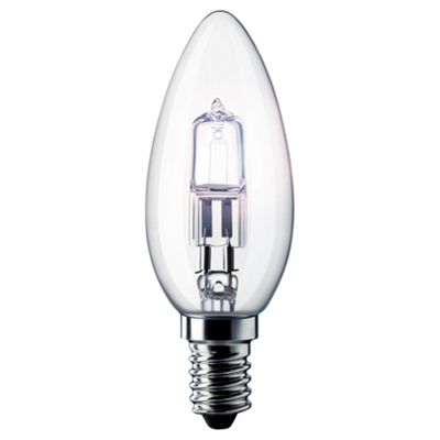 Philips EcoClassic Dimmable Halogen Candle Light Bulb (28W E14 B35)
