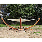 Outsunny Outdoor Hammock Swing Sun Bed Lounger