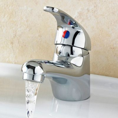 Premier D Type Mono Basin Mixer with Pop-Up Waste
